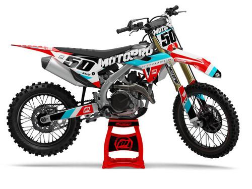 MotoPro Graphics Honda Dirt Bike GP Series Graphics