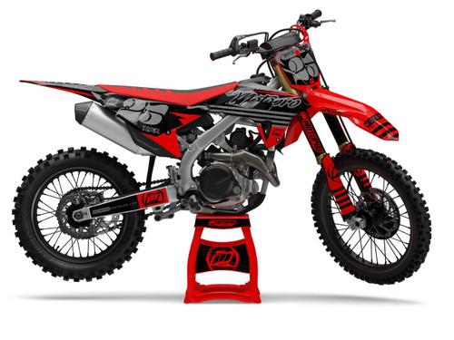 MotoPro Graphics Honda Dirt Bike RIOT Series Graphics