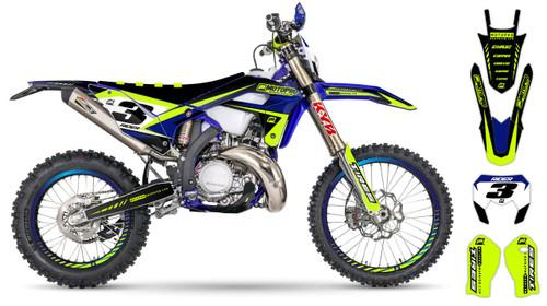 MotoPro Graphics Sherco Dirt Bike GROW Series Graphics