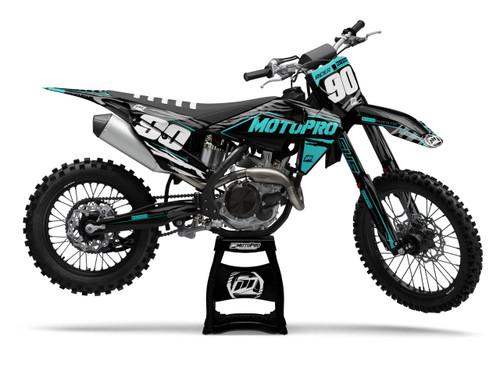 MotoPro Graphics Husqvarna Dirt Bike JUNGLE Series Graphics
