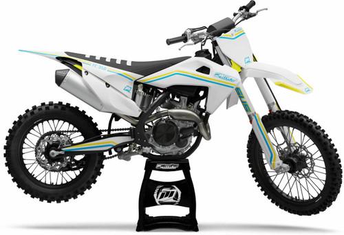 MotoPro Graphics Husqvarna Dirt Bike OLDSTYLE Series Graphics