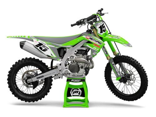 MotoPro Graphics Kawasaki Dirt Bike WHIP Series Graphics