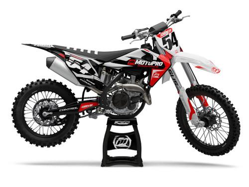 MotoPro Graphics Husqvarna Dirt Bike DESERT Series Graphics