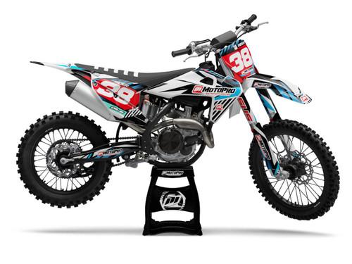 MotoPro Graphics Husqvarna Dirt Bike GUST Series Graphics