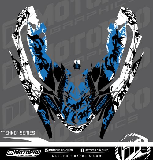 MotoPro Graphics Sea-Doo Spark Graphic Set - TEHNO Series