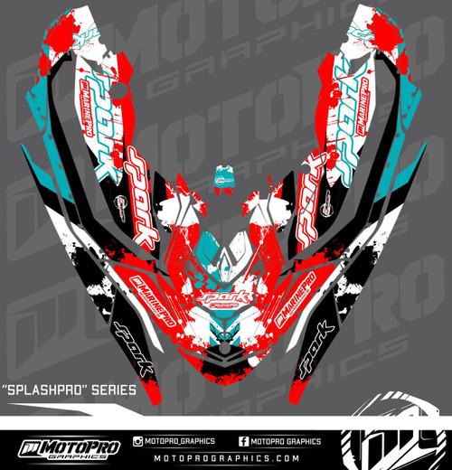 MotoPro Graphics Sea-Doo Spark Graphic Set - SPLASHPRO Series