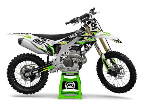 MotoPro Graphics Kawasaki Dirt Bike CALI Series Graphics
