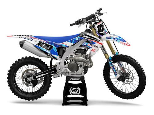 MotoPro Graphics Kawasaki Dirt Bike KYDEX Series Graphics