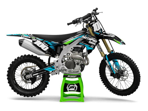 MotoPro Graphics Kawasaki Dirt Bike FLATRON Series Graphics