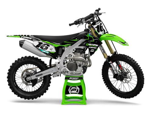 MotoPro Graphics Kawasaki Dirt Bike ENERGY Series Graphics