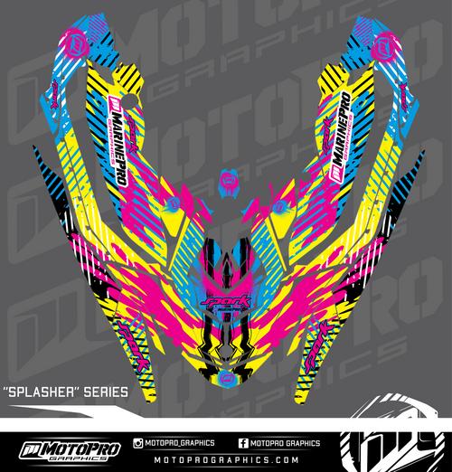 MotoPro Graphics Sea-Doo Spark Graphic Set - SPLASHER Series