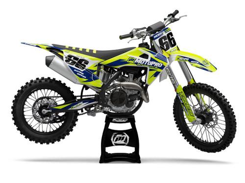 MotoPro Graphics Husqvarna Dirt Bike FLOMASTER Series Graphics
