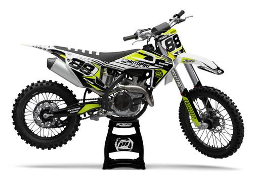 MotoPro Graphics Husqvarna Dirt Bike REVO Series Graphics