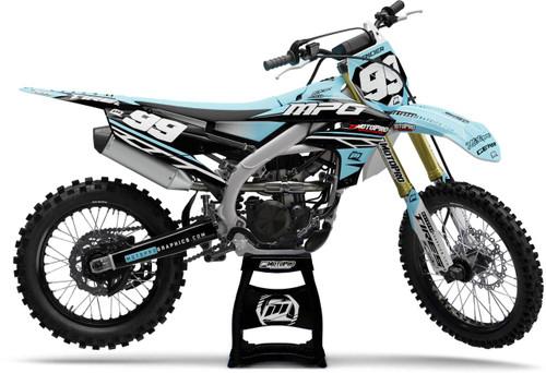 MotoPro Graphics Yamaha Dirt Bike ENZO Series Graphics