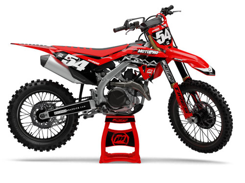 MotoPro Graphics Honda Dirt Bike MOUNTAIN Series Graphics
