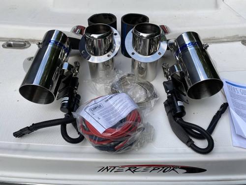 Corsa Performance Corsa Captains Call - Full Factory Spec System for Caravelle Interceptor 232 2004-2009