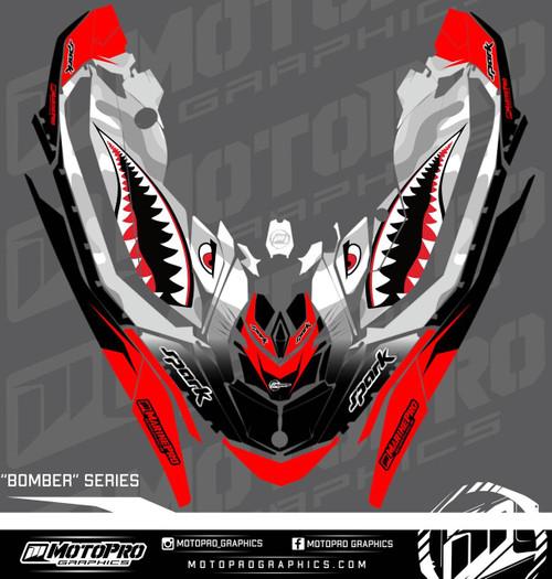 MotoPro Graphics Sea-Doo Spark Graphic Set - BOMBER Series