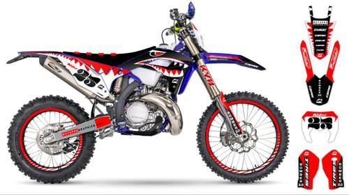 MotoPro Graphics Sherco Dirt Bike BOMBER Series Graphics