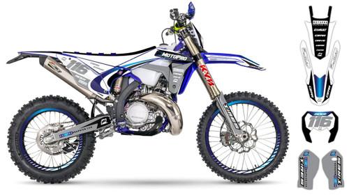 MotoPro Graphics Sherco Dirt Bike DELTA Series Graphics