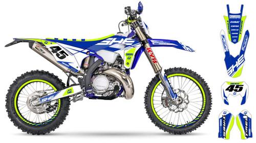 MotoPro Graphics Sherco Dirt Bike SHERC Series Graphics