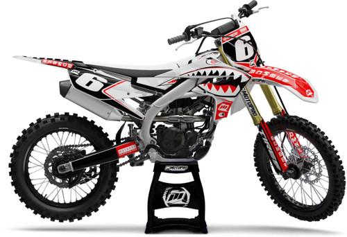 MotoPro Graphics Yamaha Dirt Bike BOMBER Series Graphics