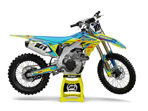 MotoPro Graphics Suzuki Dirt Bike SUPREME Series Graphics