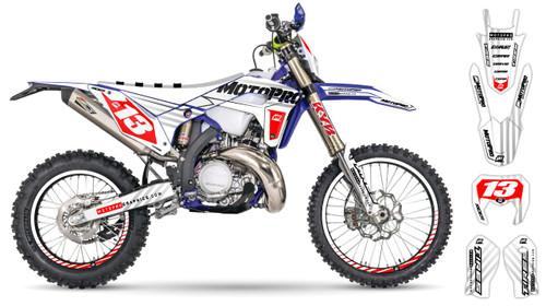 MotoPro Graphics Sherco Dirt Bike FOGGY Series Graphics