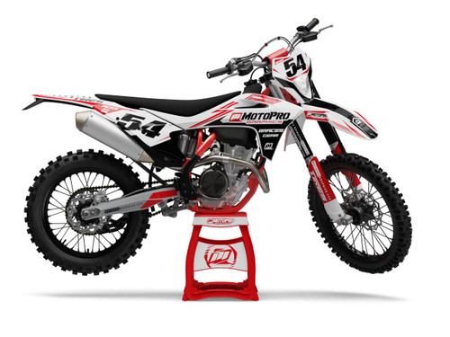 MotoPro Graphics GasGas Dirt Bike MODDO Series Graphics Set