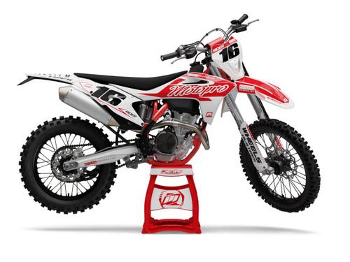 MotoPro Graphics GasGas Dirt Bike GASSER Series Graphics Set