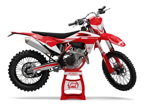 MotoPro Graphics GasGas Dirt Bike BLANK GAS Series Graphics Set