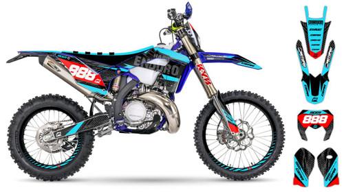 MotoPro Graphics Sherco Dirt Bike HARD ENDURO Series Graphics