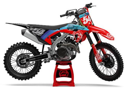 MotoPro Graphics Honda Dirt Bike CURV Series Graphics