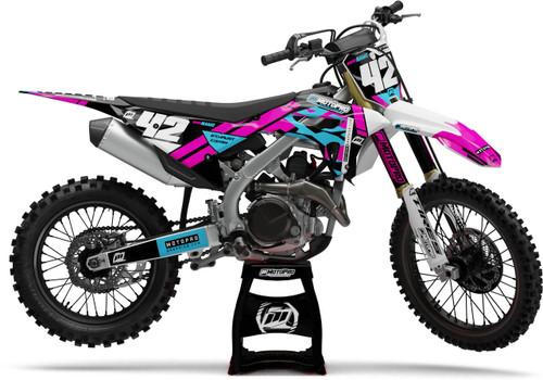 MotoPro Graphics Honda Dirt Bike PINKER Series Graphics
