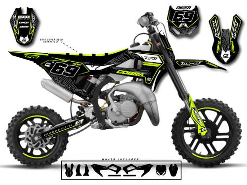 MotoPro Graphics Cobra Dirt Bike ZION Graphics Set