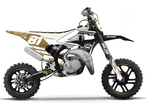 MotoPro Graphics Cobra Dirt Bike DUMPIN Graphics Set