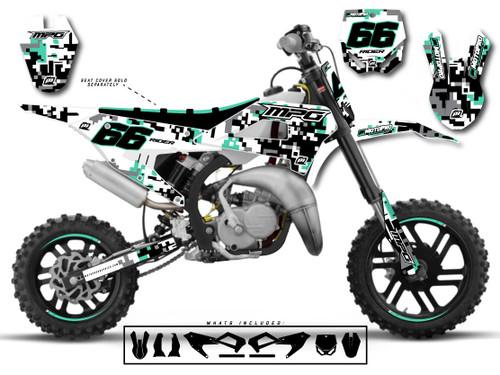 MotoPro Graphics Cobra Dirt Bike PIXMIX Graphics Set