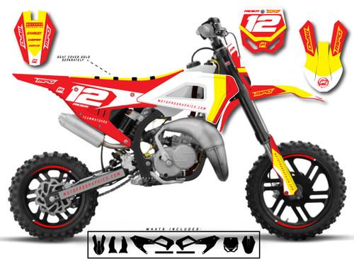 MotoPro Graphics Cobra Dirt Bike SETRA Graphics Set