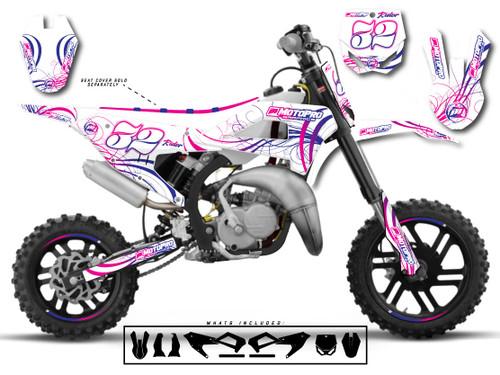 MotoPro Graphics Cobra Dirt Bike SWIRLING Graphics Set