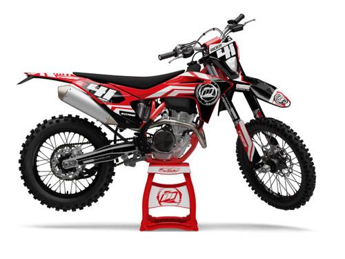 MotoPro Graphics GasGas Dirt Bike VITAKER Series Graphics Set