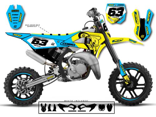 MotoPro Graphics Cobra Dirt Bike SCALE Graphics Set