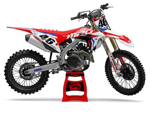 MotoPro Graphics Honda Dirt Bike STAR Series Graphics Set