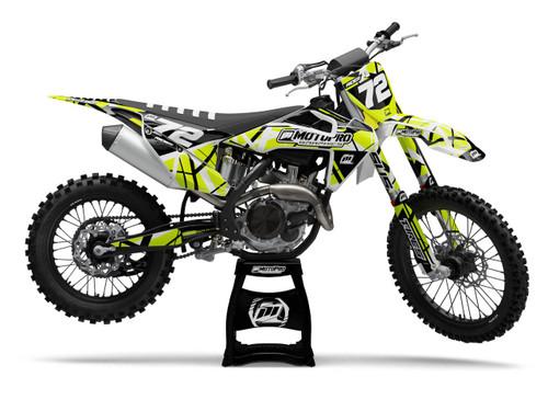 MotoPro Graphics Husqvarna Dirt Bike ERUPTION Series Graphics
