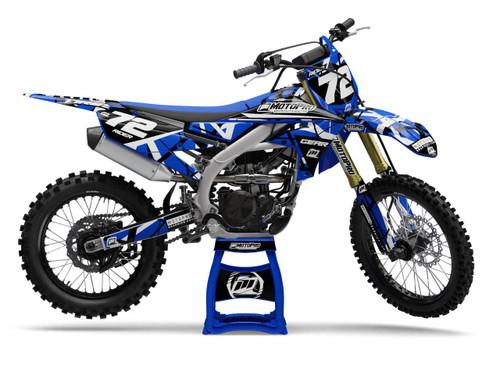 MotoPro Graphics Yamaha Dirt Bike ERUPTION Series Graphics
