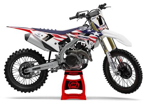 MotoPro Graphics Honda Dirt Bike Patriot 2.0 Series Graphics