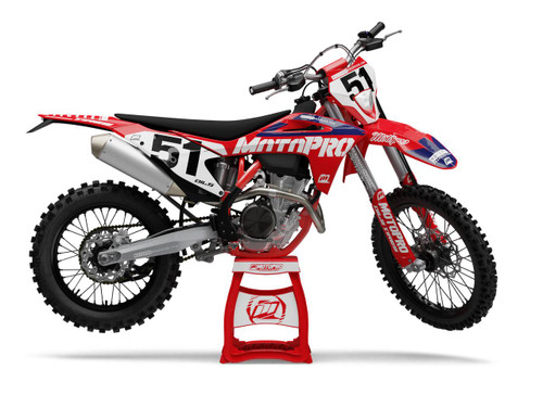 MotoPro Graphics GasGas Dirt Bike Factory Series Graphics Set