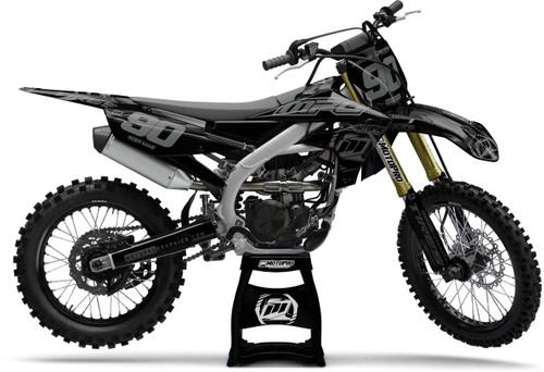 MotoPro Graphics Yamaha Dirt Bike BLACKOUT Series Graphics