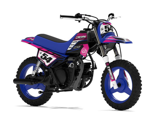 MotoPro Graphics Yamaha PW50 Factory Pink Series Graphics