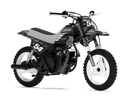 MotoPro Graphics Yamaha PW50 Factory Grey Series Graphics
