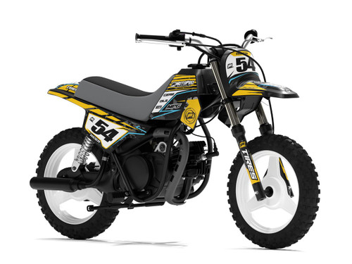 MotoPro Graphics Yamaha PW50 Factory Digital Camo Series Graphics