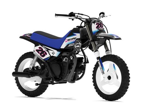 MotoPro Graphics Yamaha PW50 KORN White Series Graphics
